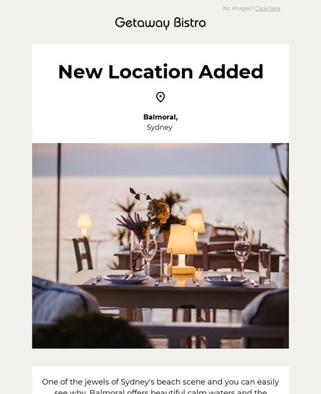 New Location Added Announcements Email Template