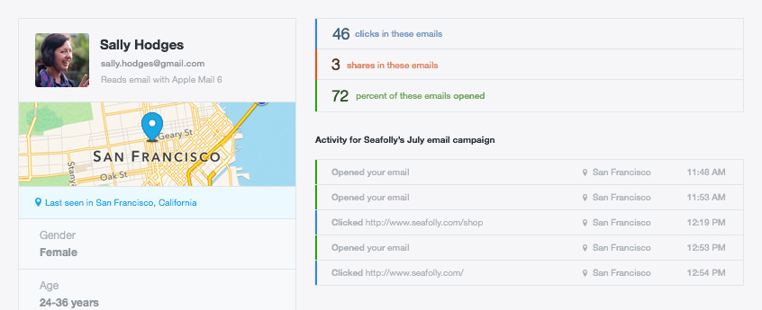 Email Campaign Reporting - Browser