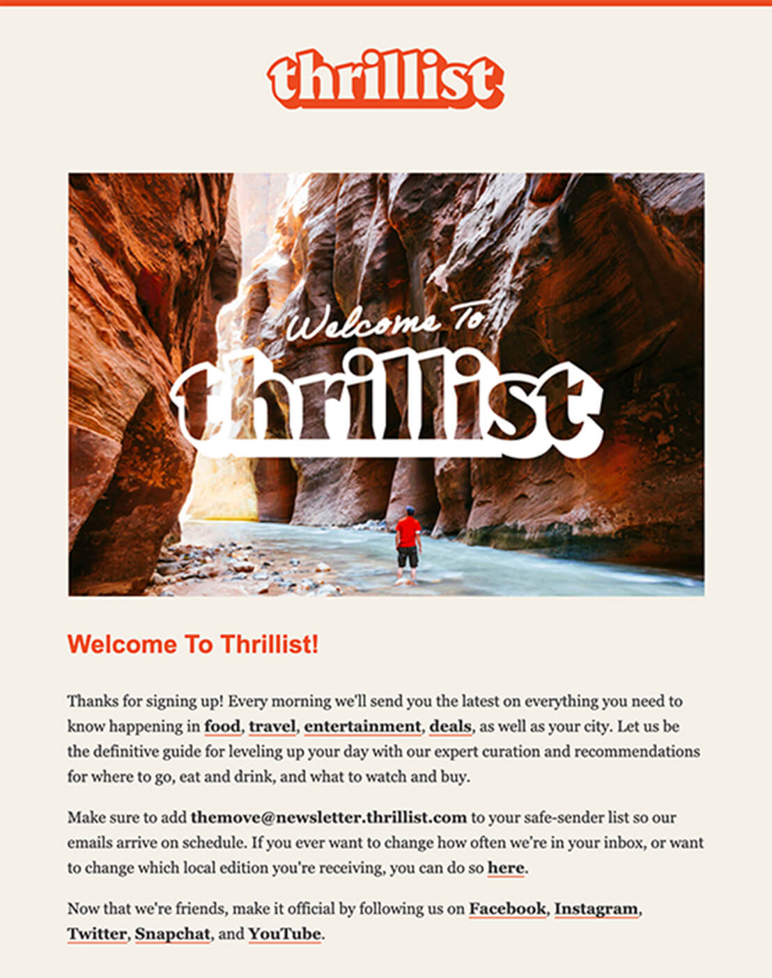 Email Marketing for Publishers - Thrillist Email