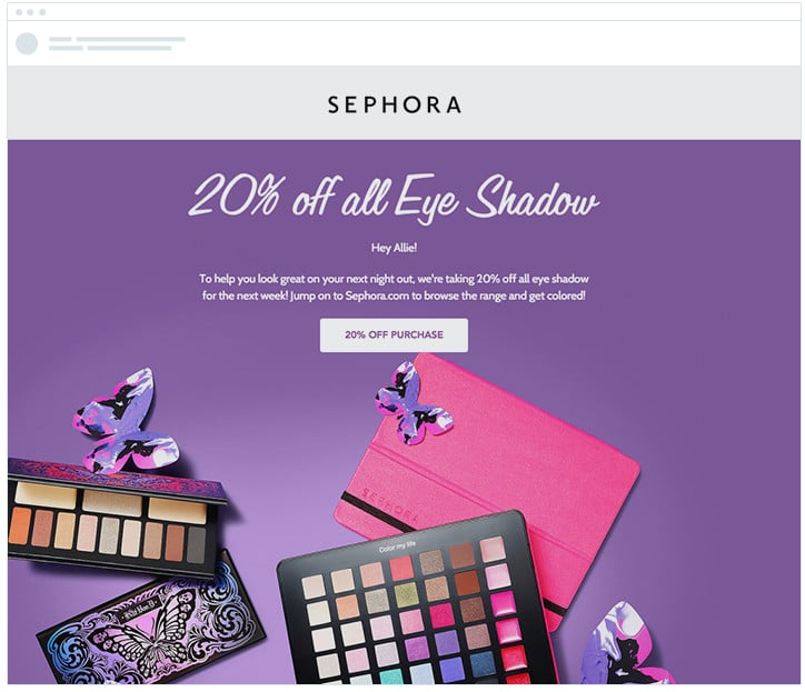 Sephora - A/B Test - Call to Action