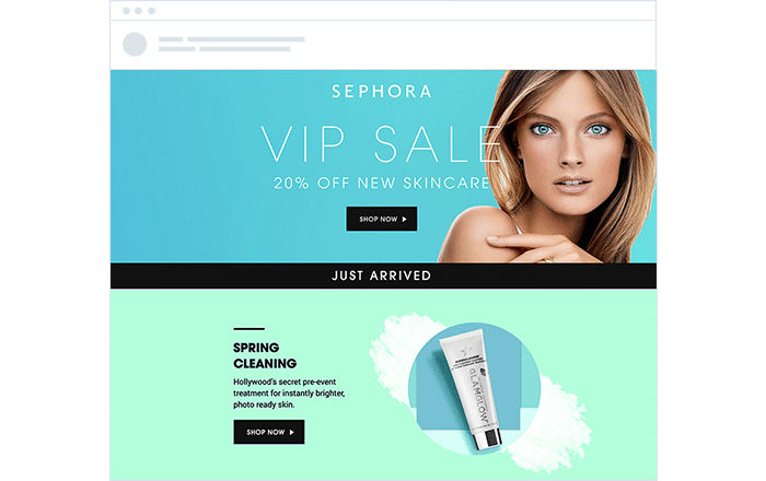 Sephora Automated VIP email