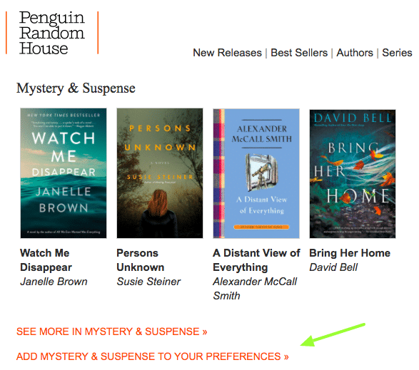 Penguin Random House - Preference Center for Email Subscribers