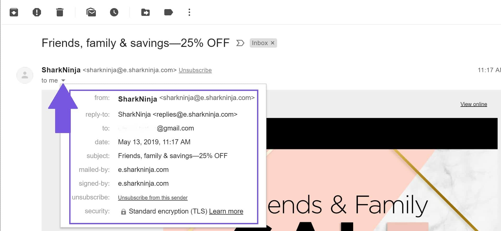 examples of excellent email headers