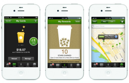 A good example of a brand using an omnichannel approach is Starbucks and its rewards program.