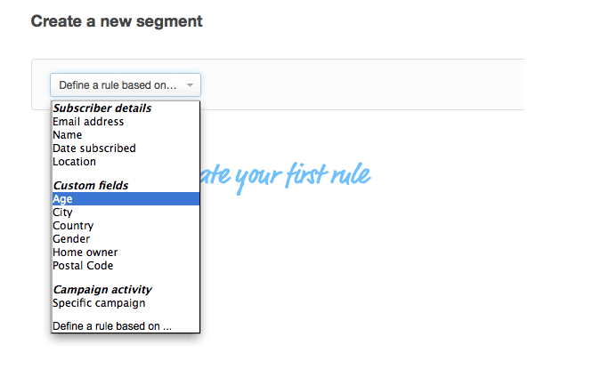 Segments – Target Email Campaigns at Specific Subscribers