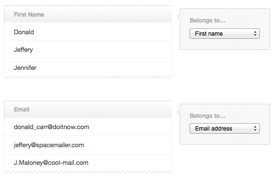 How do I Copy a List of Email Addresses?