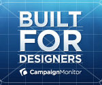 Campaign Monitor banner ad example